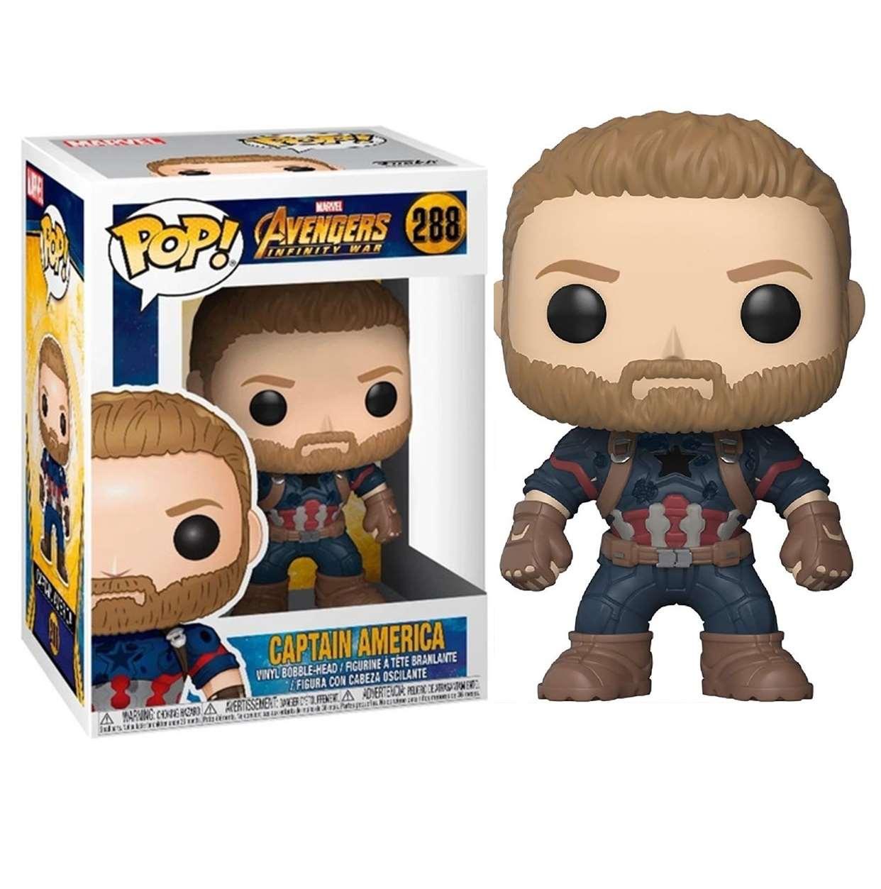 Capitán América #288 Figura Avengers Infinity War Funko Pop!