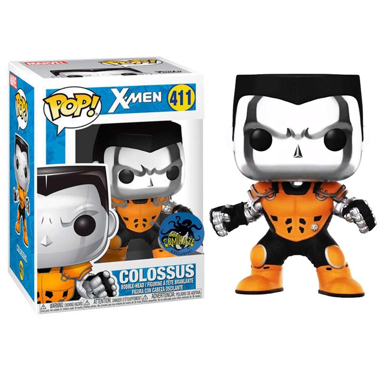 Colossus #411 X- Men Figura Funko Pop! Exclusivo Comikaze