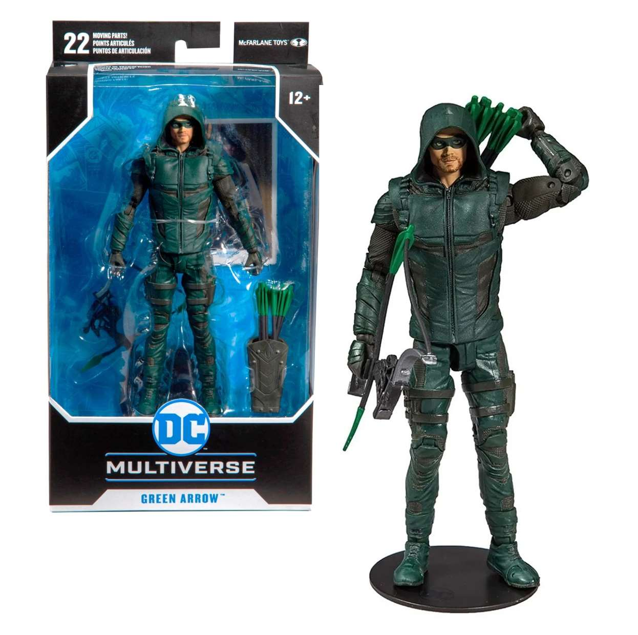 Green Arrow Figura Dc Comics Multiverse Serie Arrow