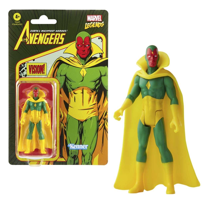 Vision Vintage Figura Marvel Legends Kenner 3 PuLG