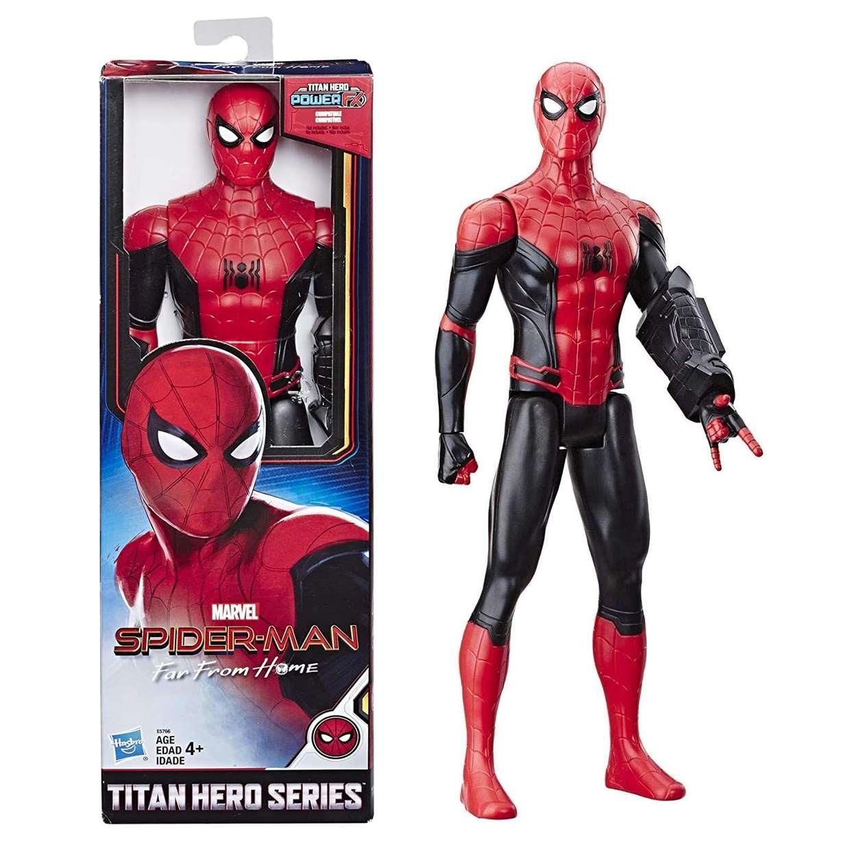 Spider Man Figura Far From Home Titan Hero Series