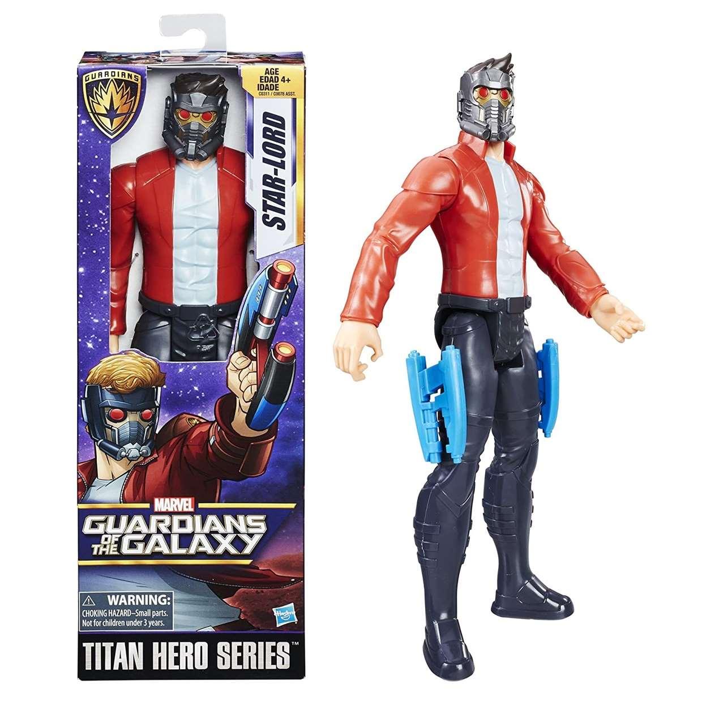 Star Lord Guardianes De La Galaxia Figura Marvel Titan Hero