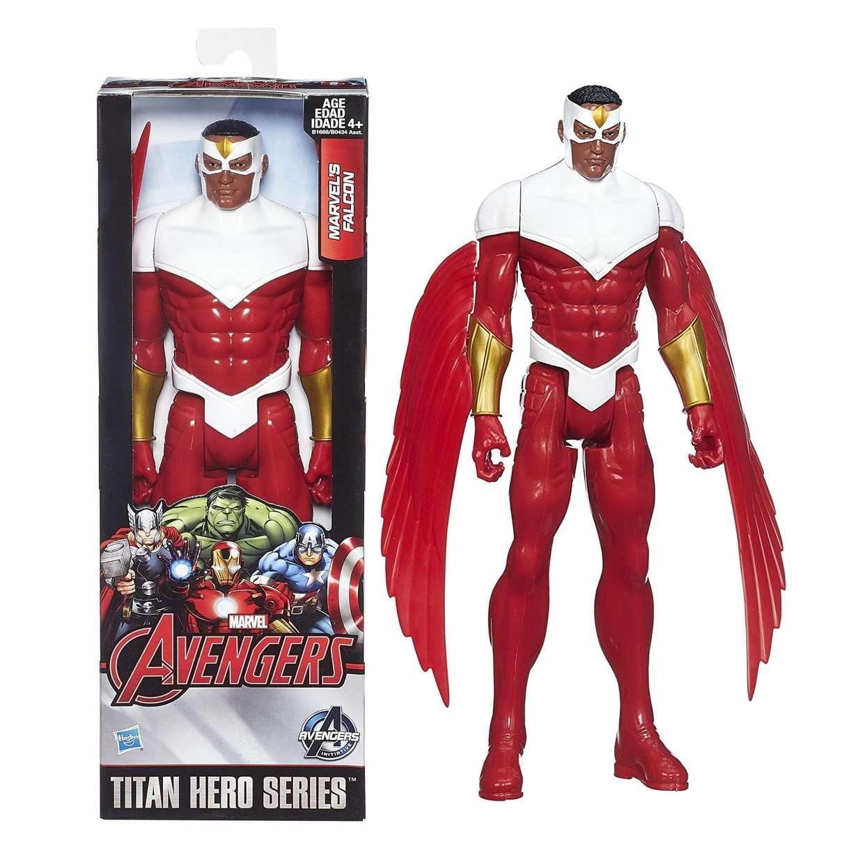 Falcón Figura Marvel Avengers Initiative Titan Hero 12 PuLG