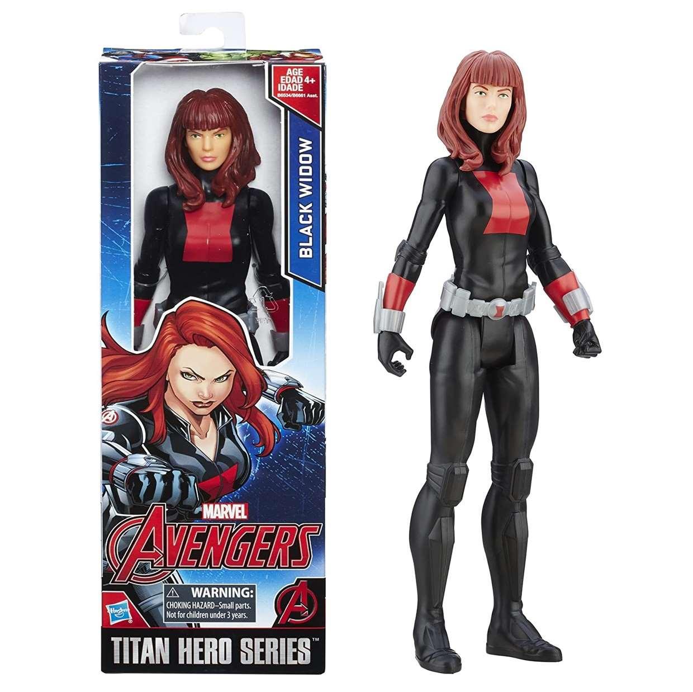Black Widow Figura Marvel The Avengers Titan Hero Series