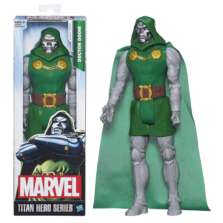 Doctor Doom Figura Marvel Titan Hero Series 12 Pulgadas