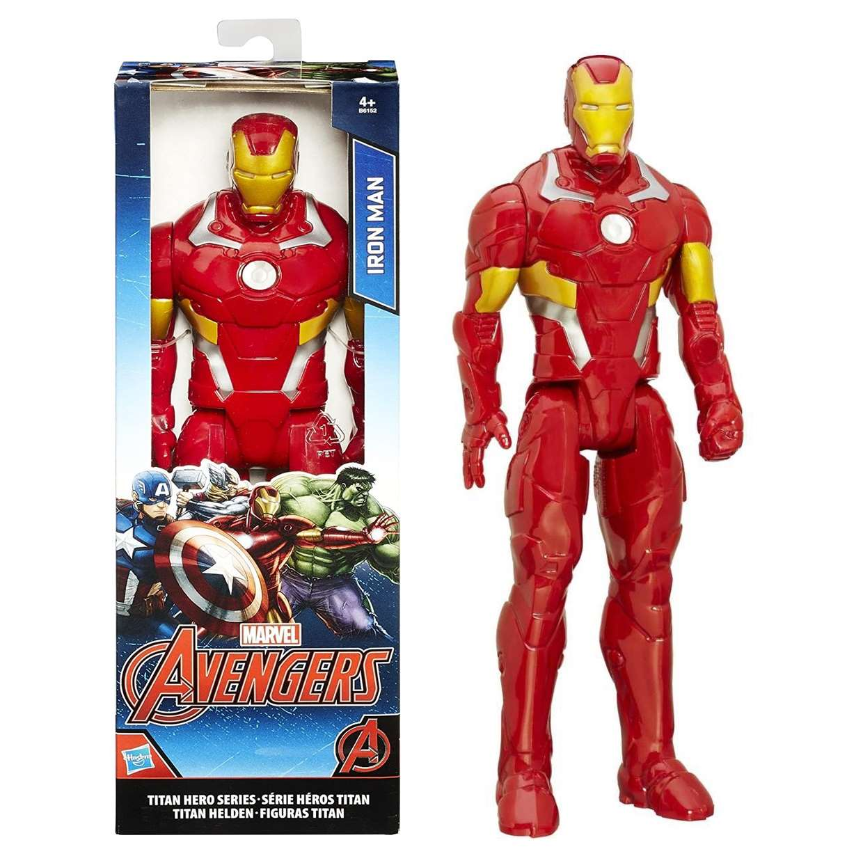 Iron Man Figura Marvel Avengers Titan Hero Series 12 PuLG