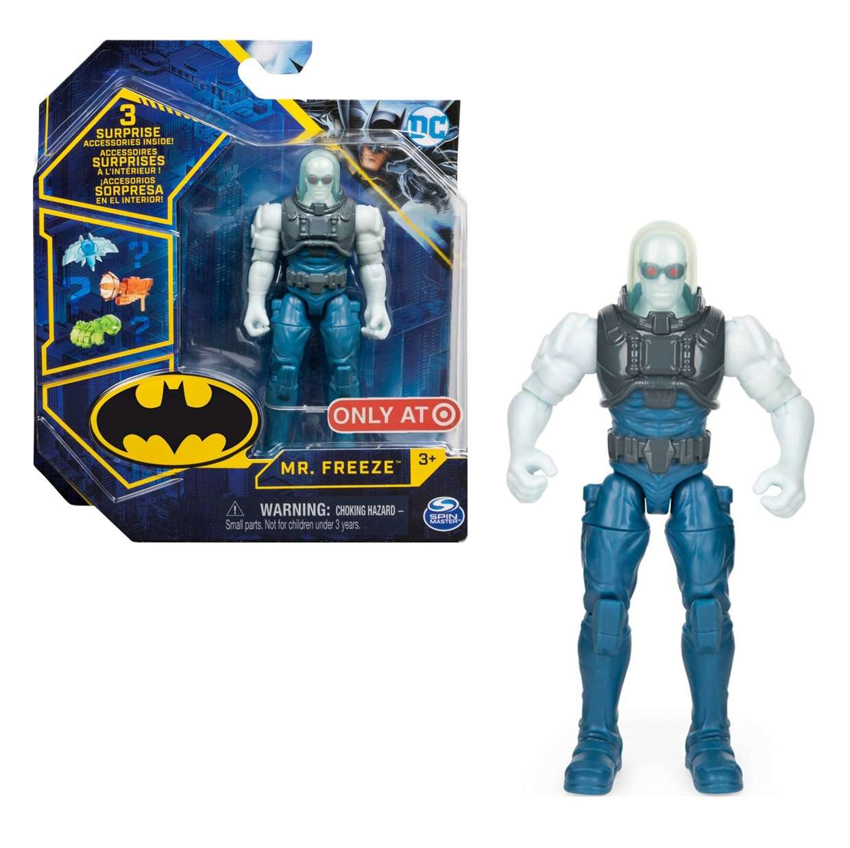 Mr Freeze Figura Collect Them All Spin Master Only Target