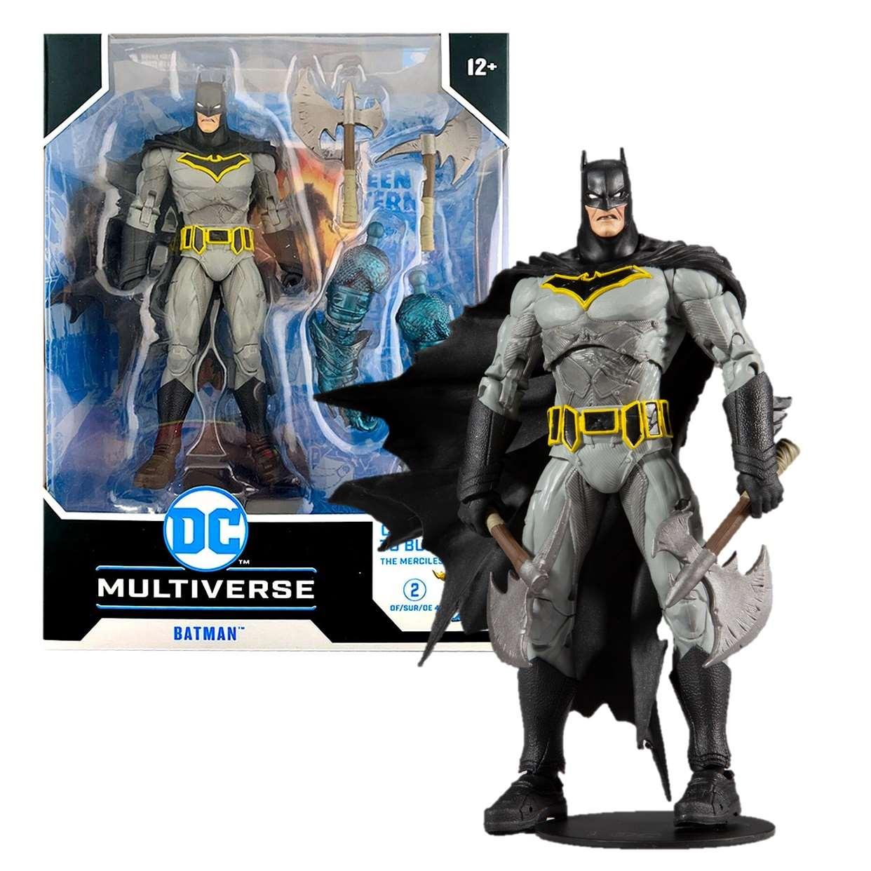 Batman Figura Multiverse Dark Night Metal Mcfarlane Merciles