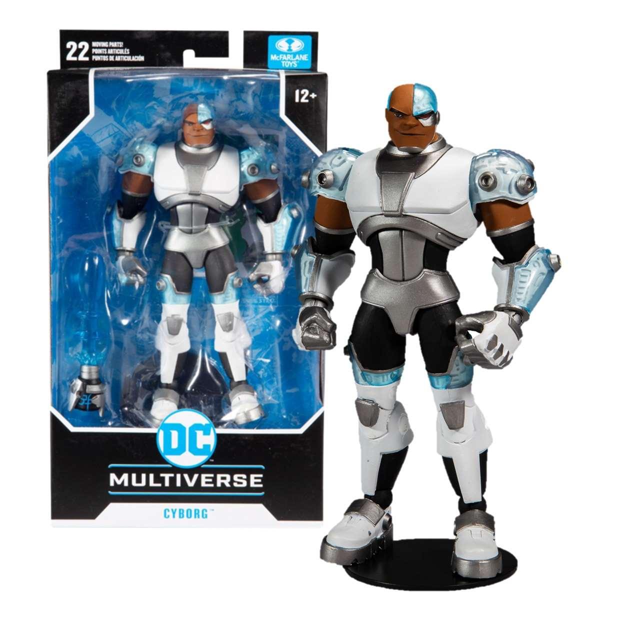 Cyborg Figura Teen Titans Multiverse Mc Farlane Toys 6 PuLG