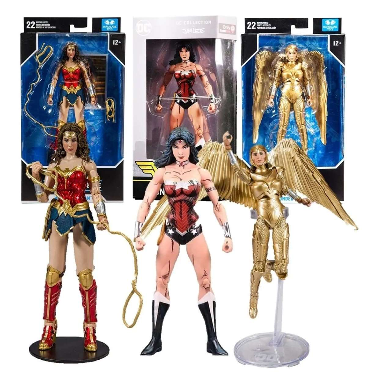 Wonder Woman 1984 Multiverse Wonder Woman Collection Jim Lee
