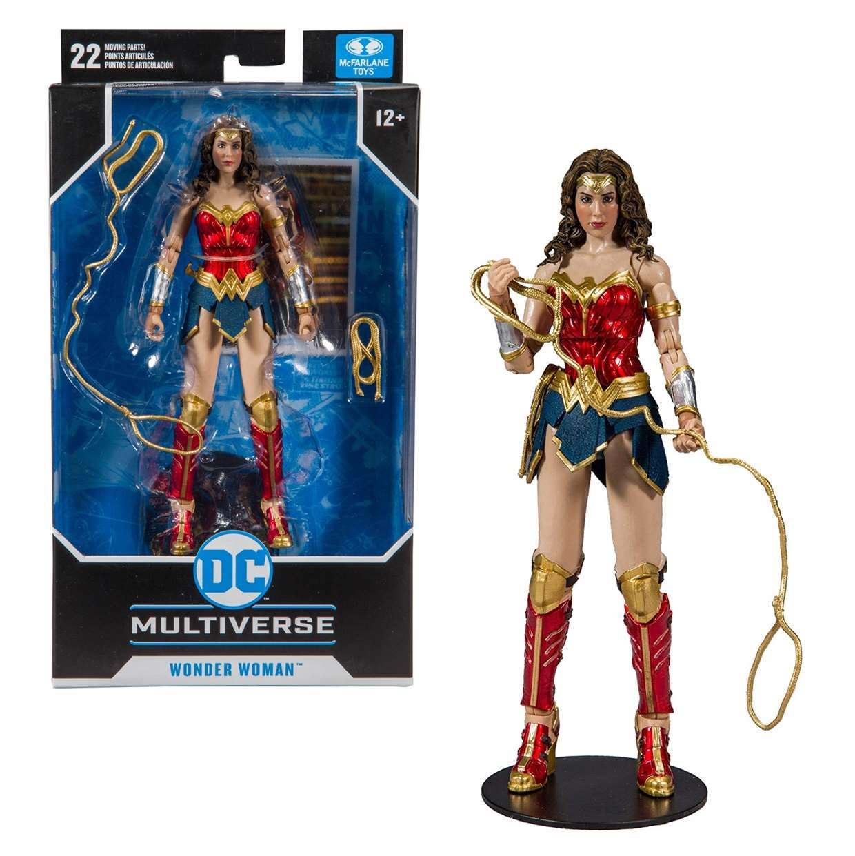 Wonder Woman Figura Dc Comics Multiverse Mc Farlane Toys
