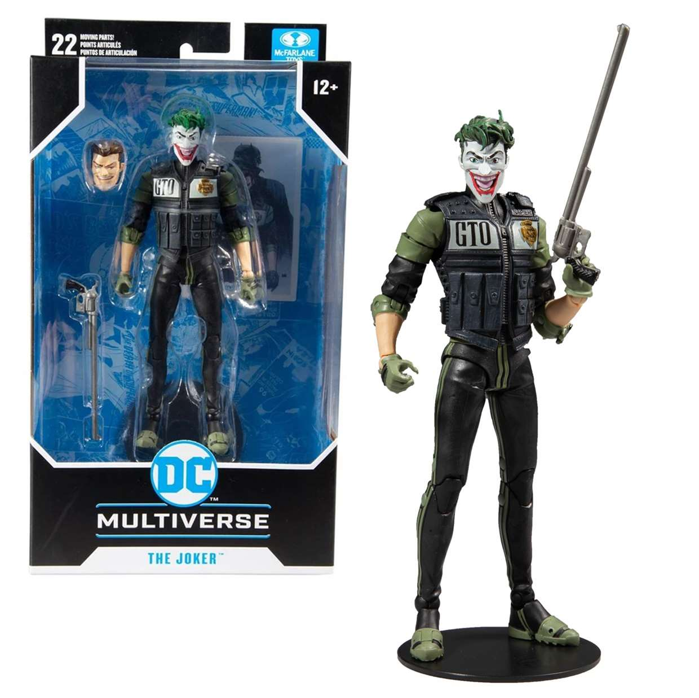 Batman White Knight #8 Figura Dc Multiverse Mc Farlane