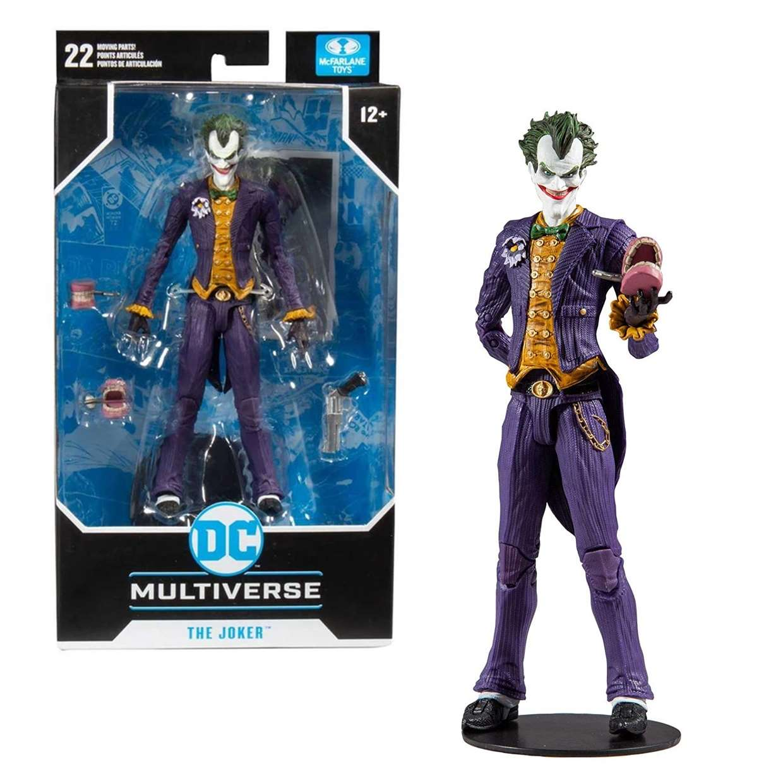 The Joker Figura Batman Arkham Asylum Multiverse Mc Farlane