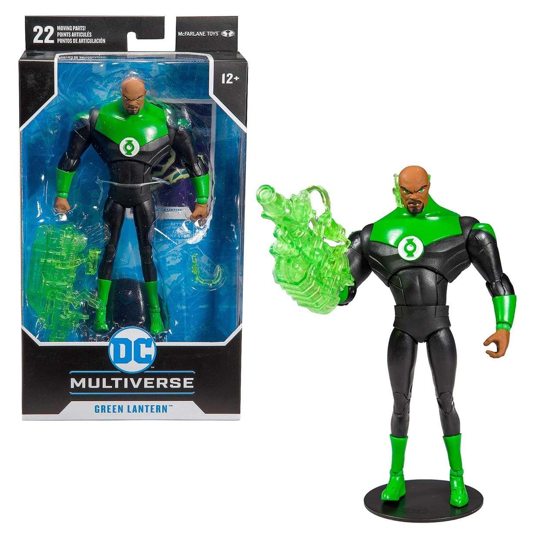Green Lantern The Animated Series Multiverse Mc Farlane Toys