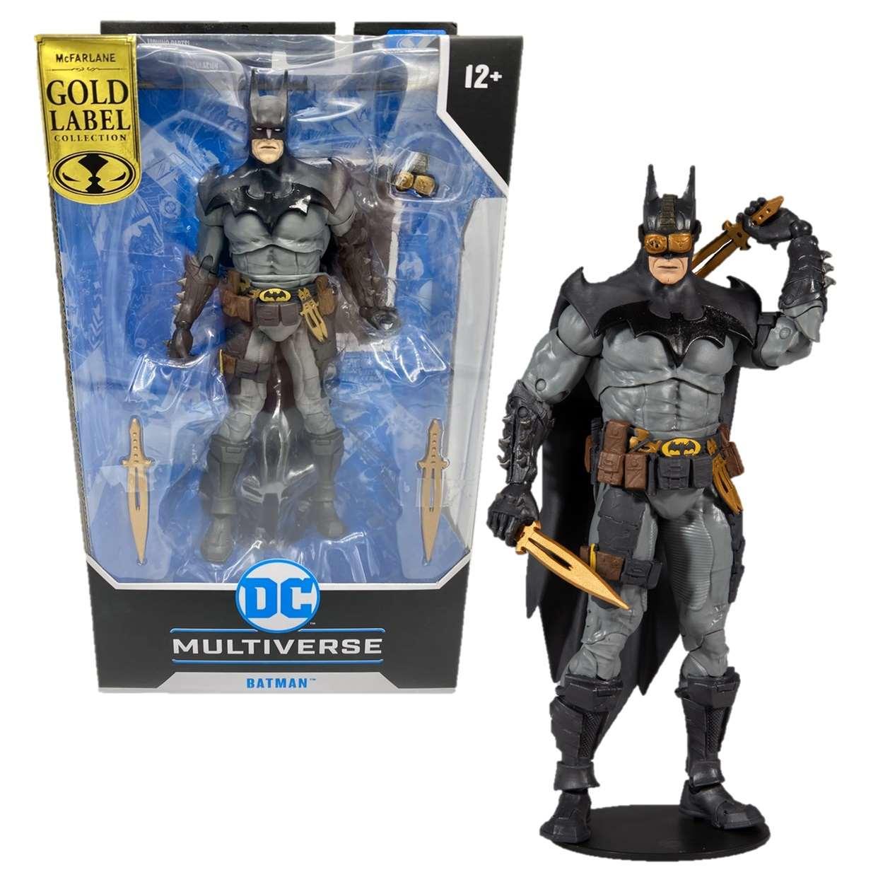 Batman Designed By Todd Gold Label Multiverse Mc Farlane
