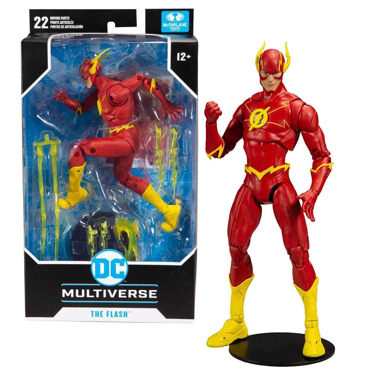 The Flash Figura Dc Rebirth Multiverse Mc Farlane