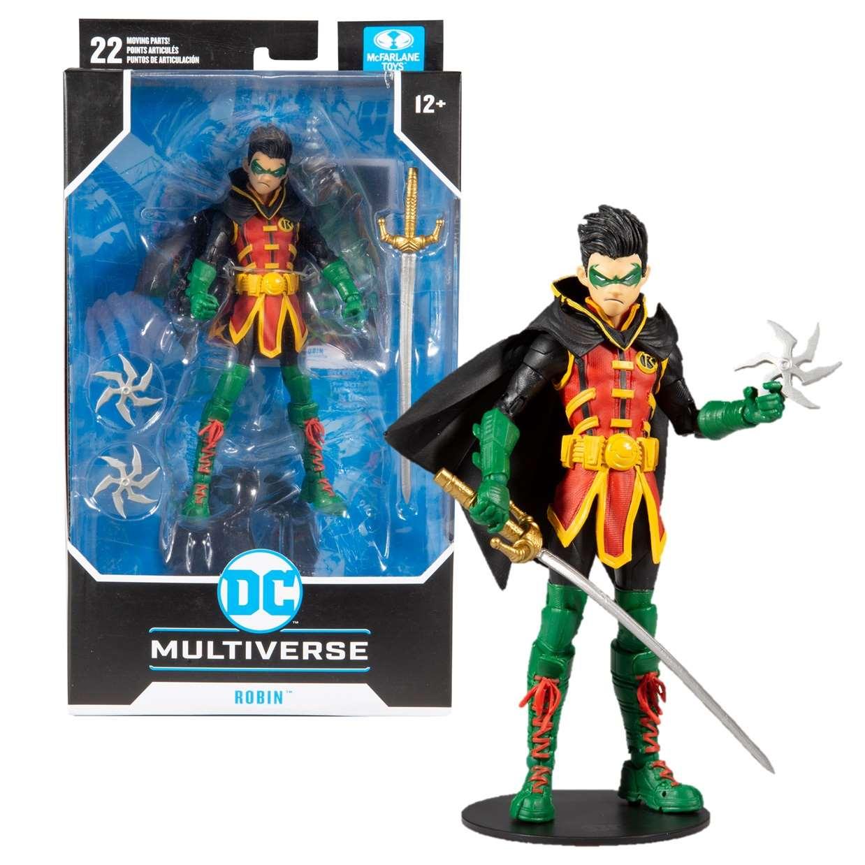 Robin Figura Dc Rebirth Multiverse Mc Farlane 6 PuLG