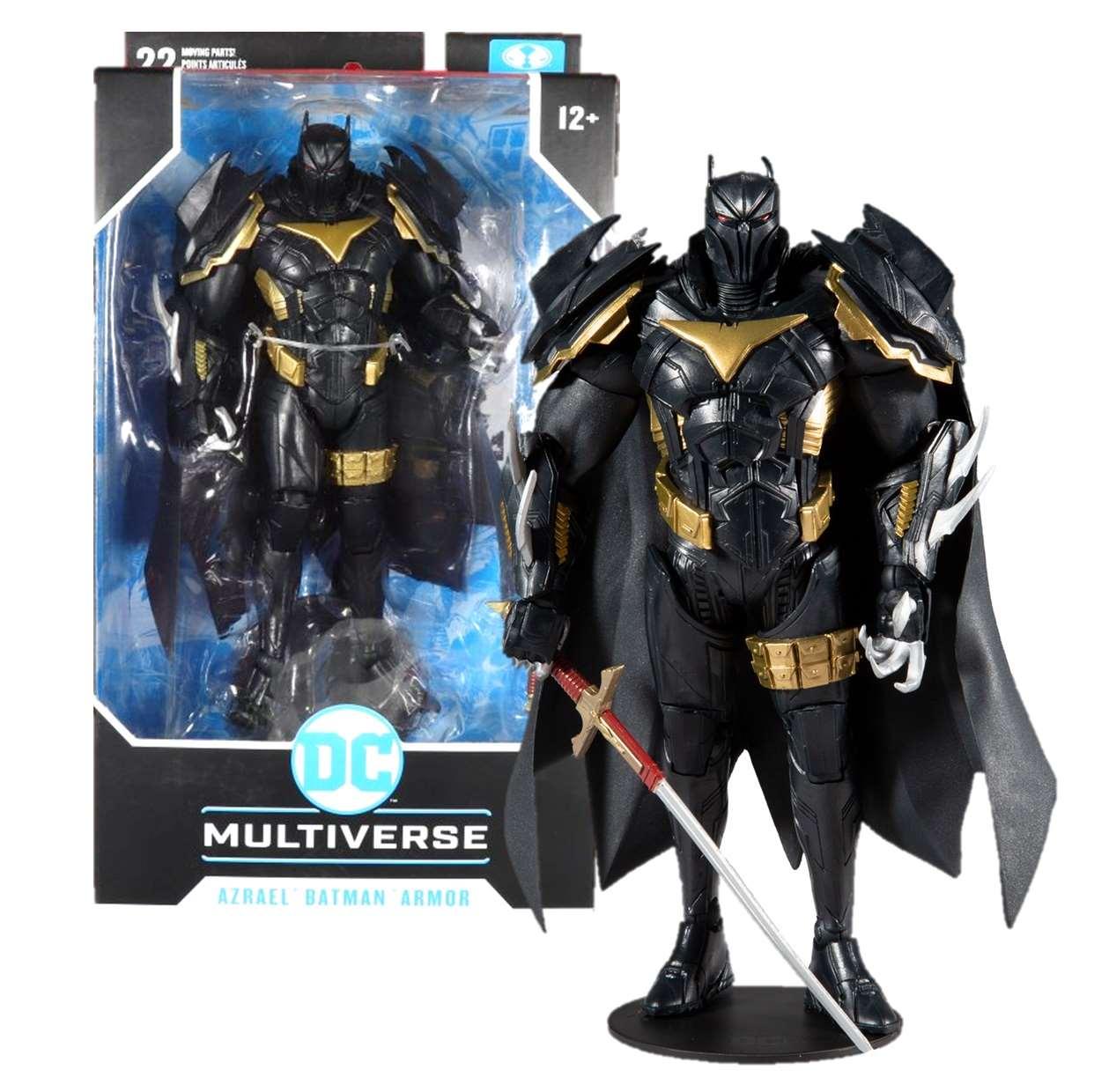 Azrael Batman Armor Curse Of The White Knight Multiverse