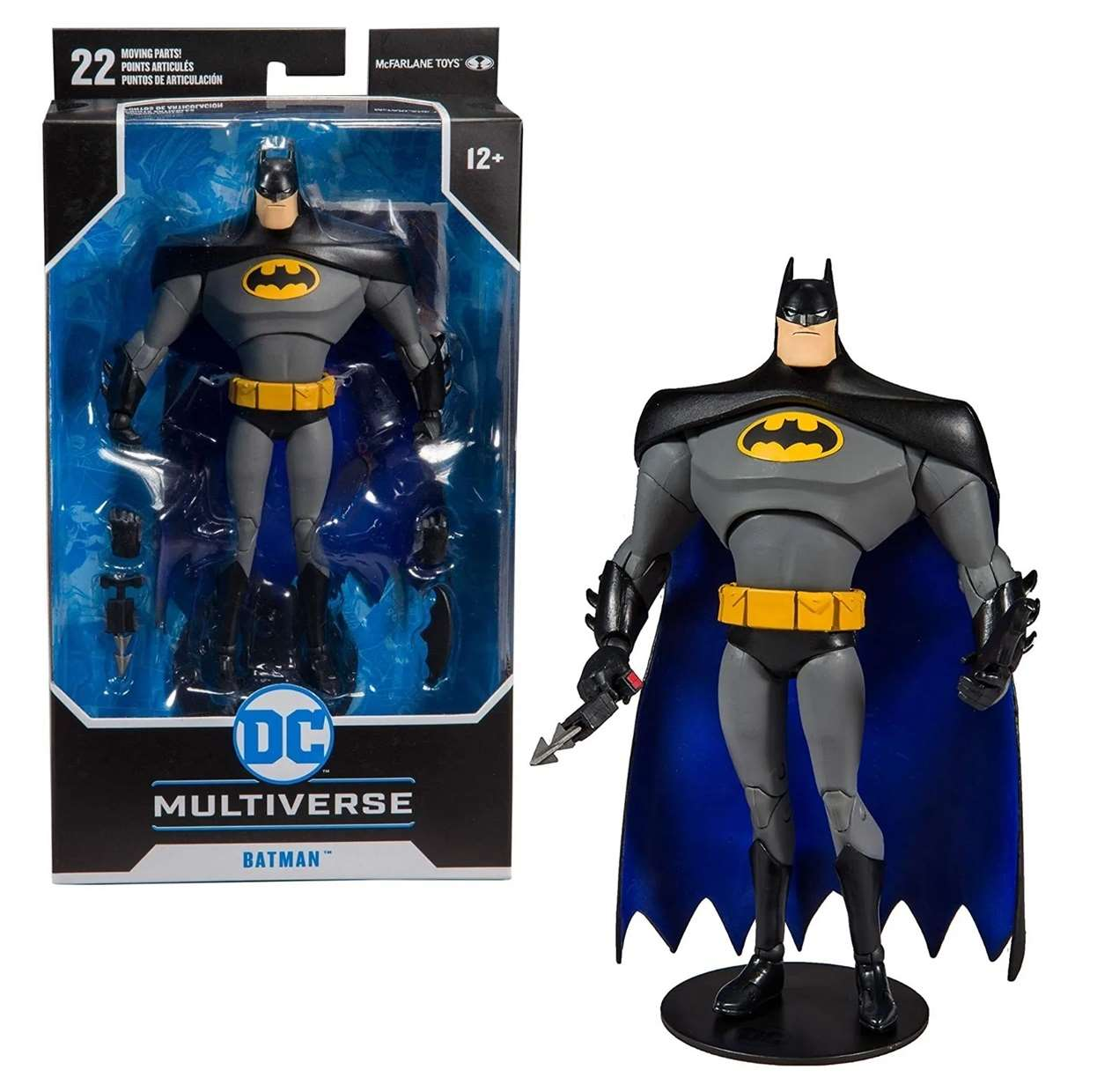 Batman Figura The Animated Series Multiverse Mc Farlane Toys