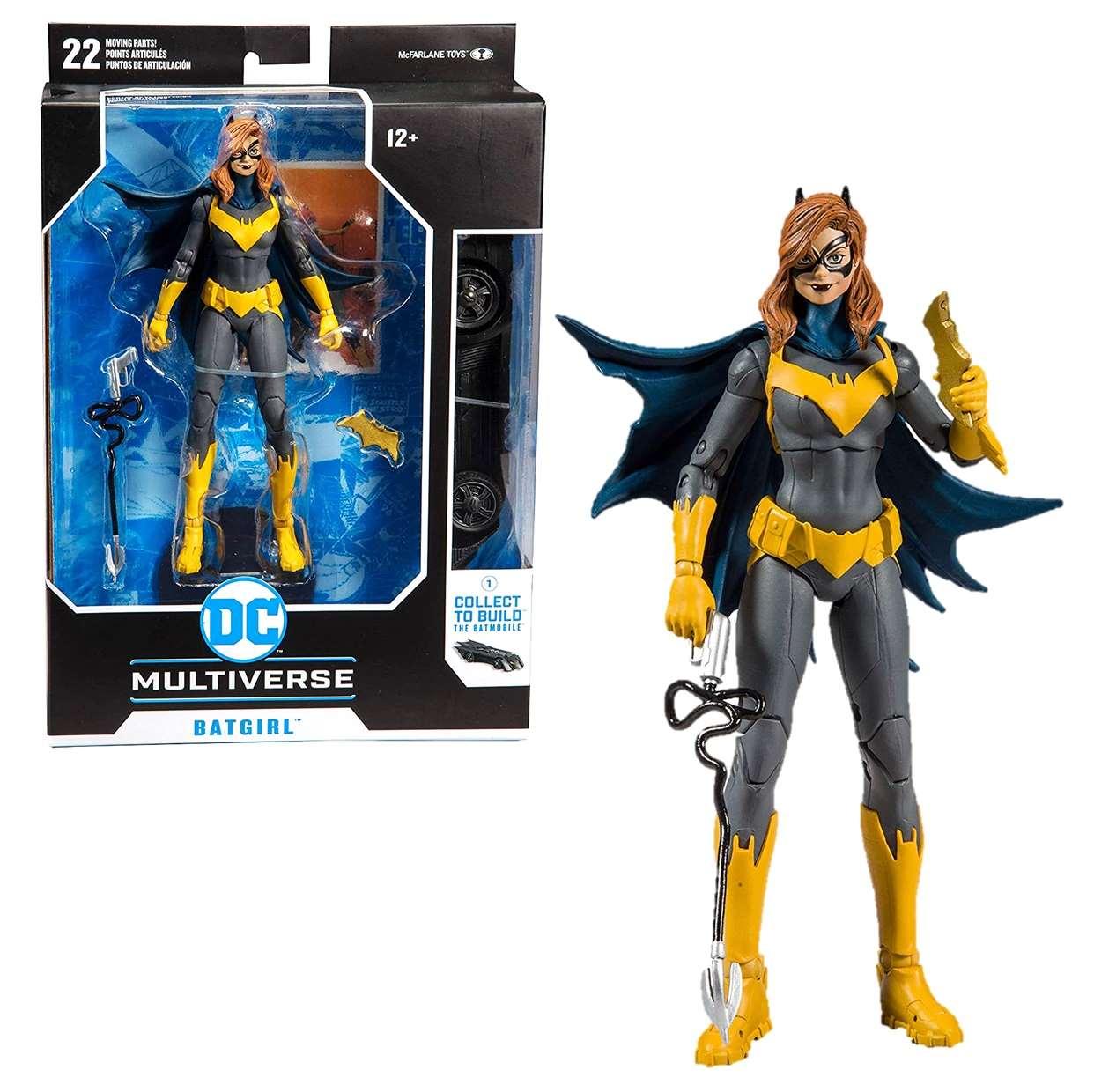 Batgirl Art Of The Crime Figura Dc Multiverse Mcfarlane Toys