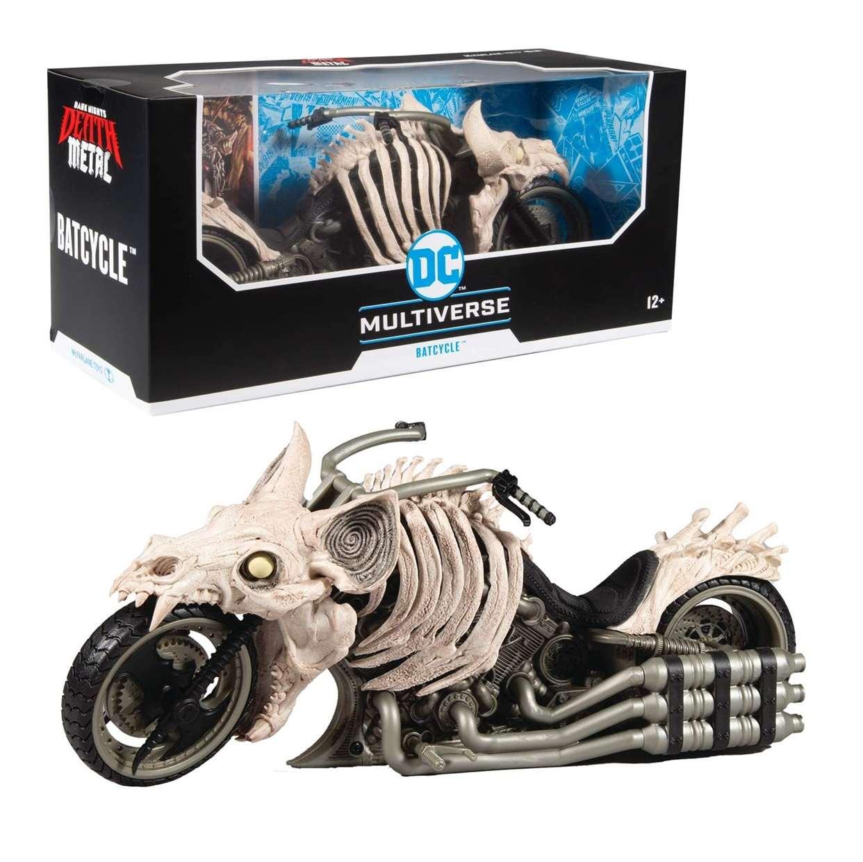 Batcycle Figura Dark Night Death Metal Multiverse Mcfarlane