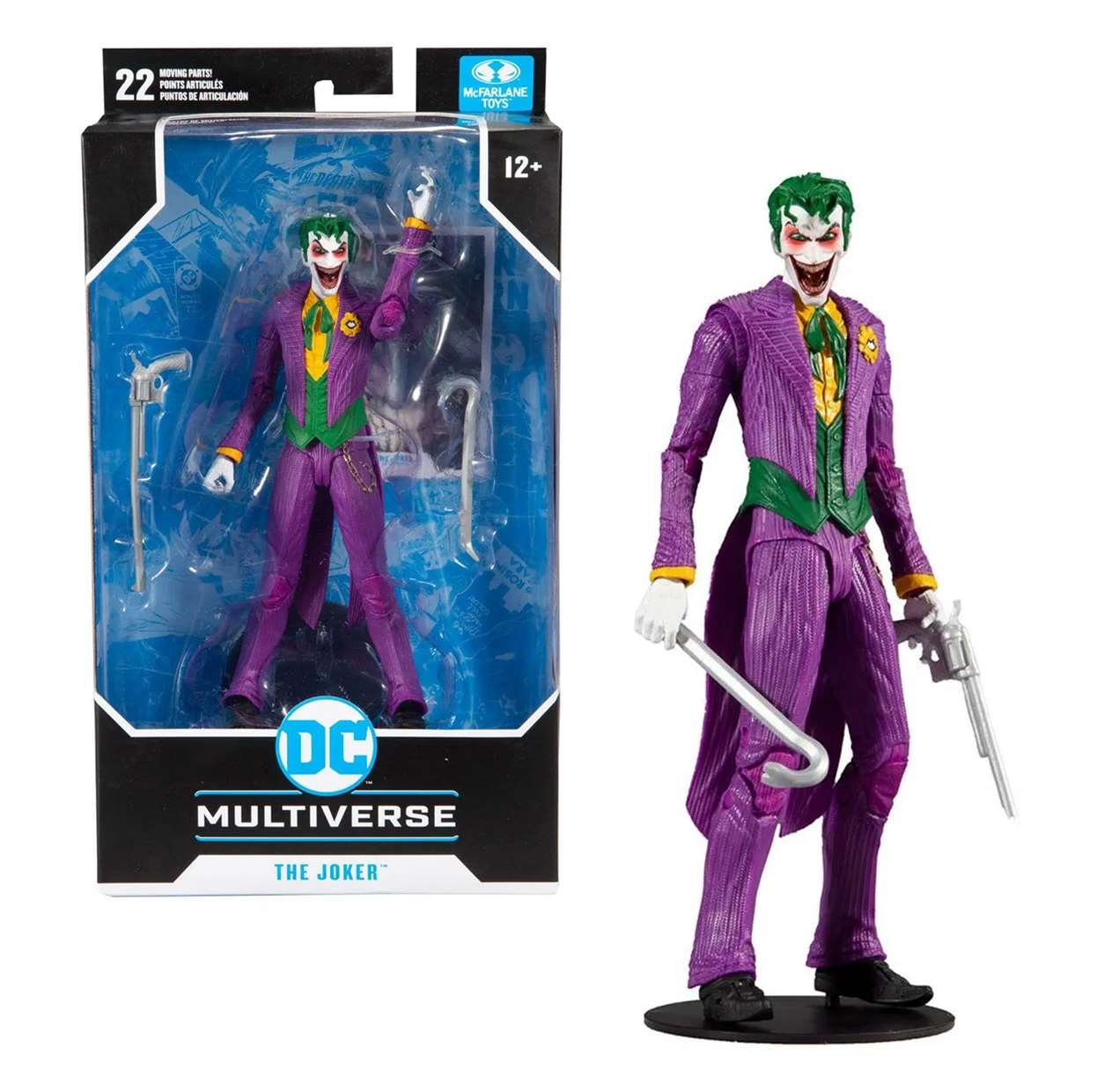 The Joker Rebirth Figura Dc Multiverse Mc Farlane