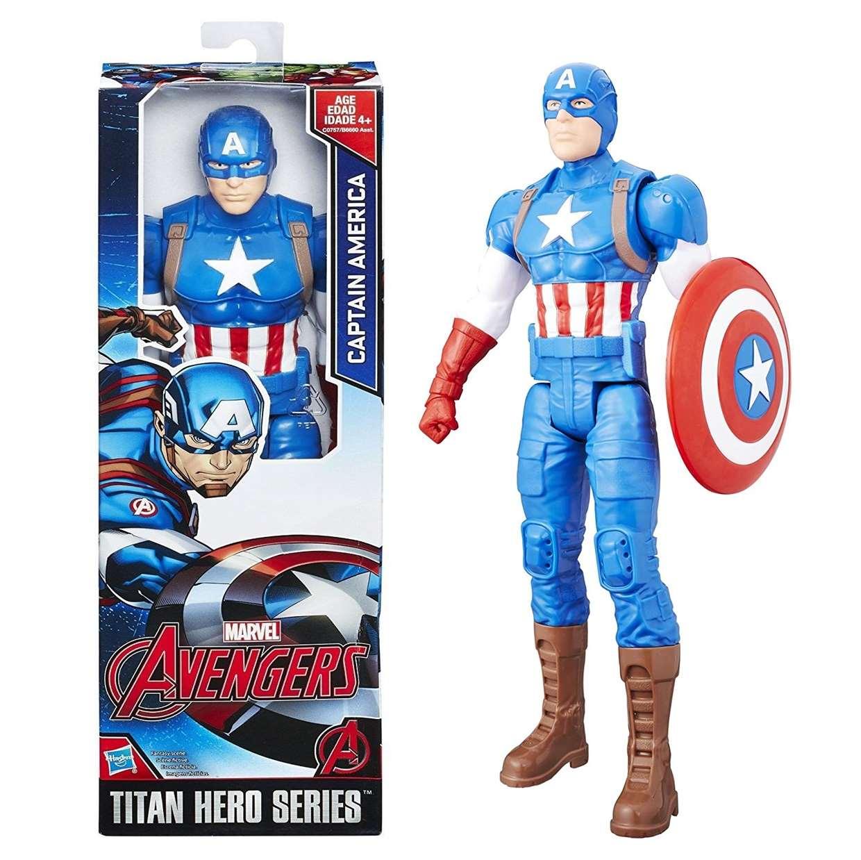 Capitán América Mod16 Figura Marvel Avengers Titan Hero
