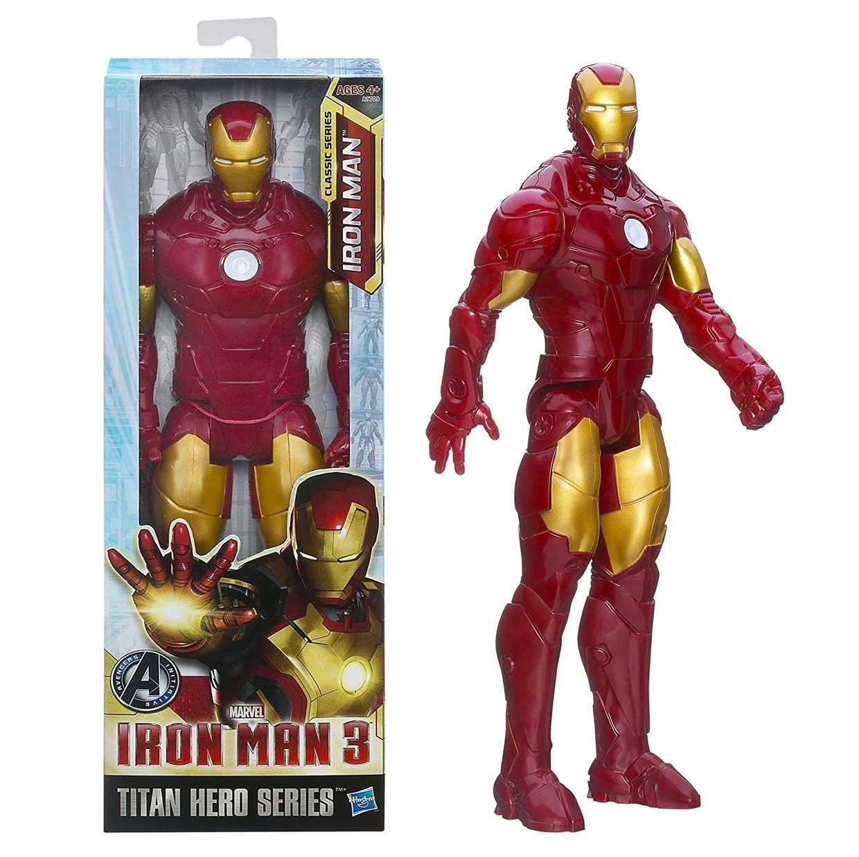 Iron Man 3 Movie Figura Avengers Titan Hero Series 12 PuLG