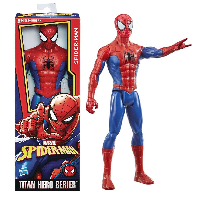 Spider Man Figura Marvel Power Fx Titan Hero Series 12 PuLG