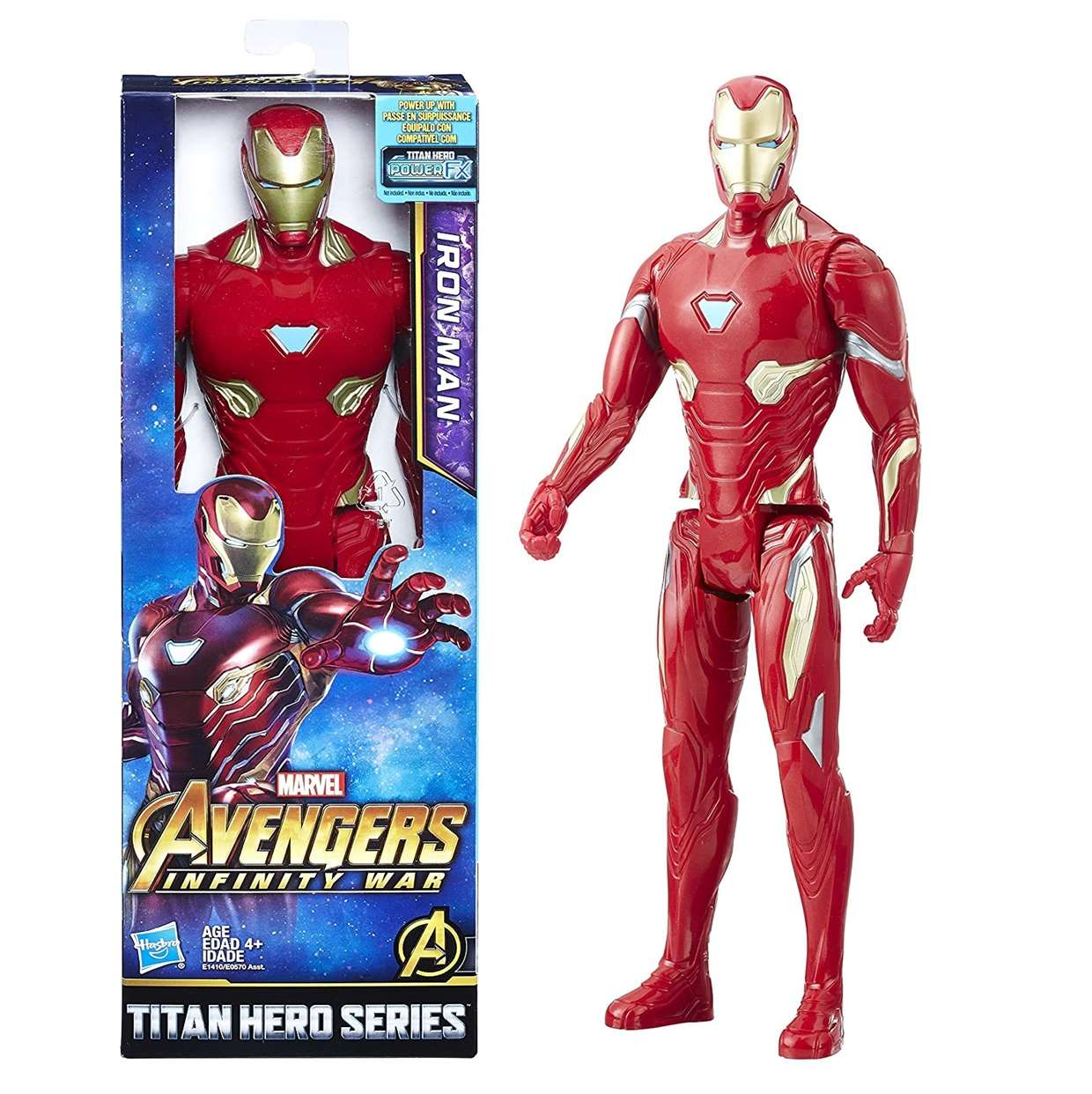Iron Man Figura Power Fx Avengers Infinity War 12 Pulgadas