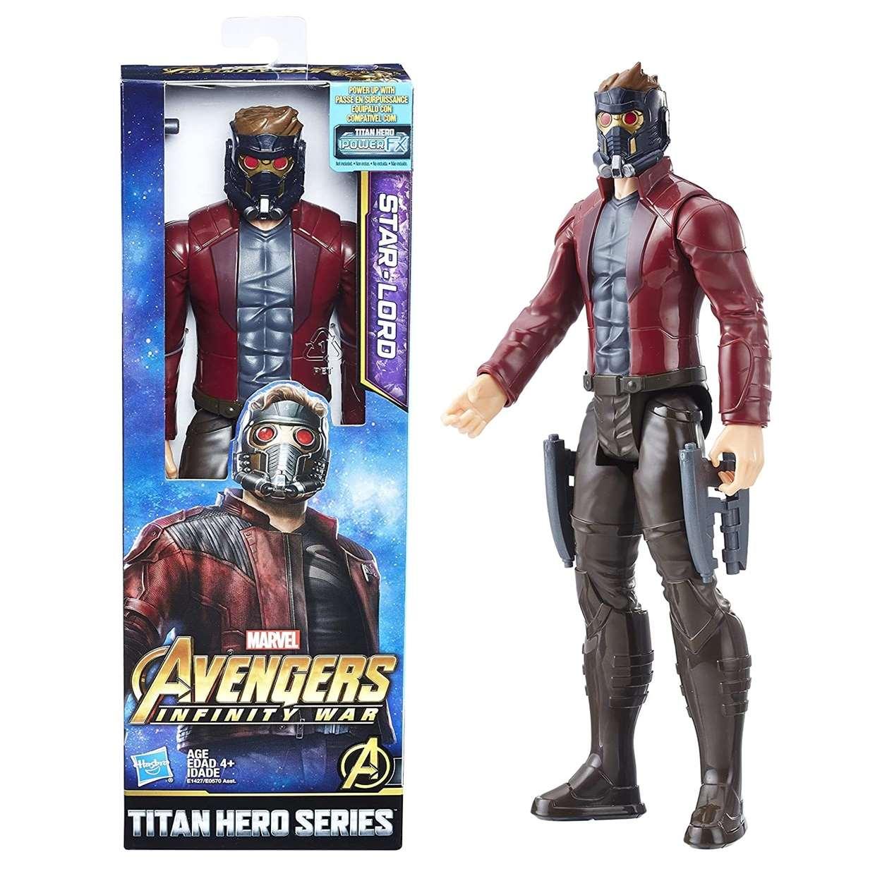 Star Lord Figura Avengers Infinity War Titan Hero Series