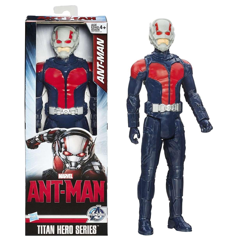 Ant Man Figura Marvel Iniciativa Avengers Titan Hero Series