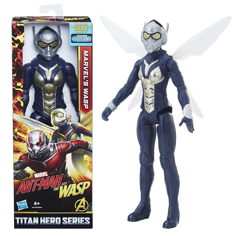 Wasp Figura Ant Man & The Wasp Movie Power Fx Titan Hero