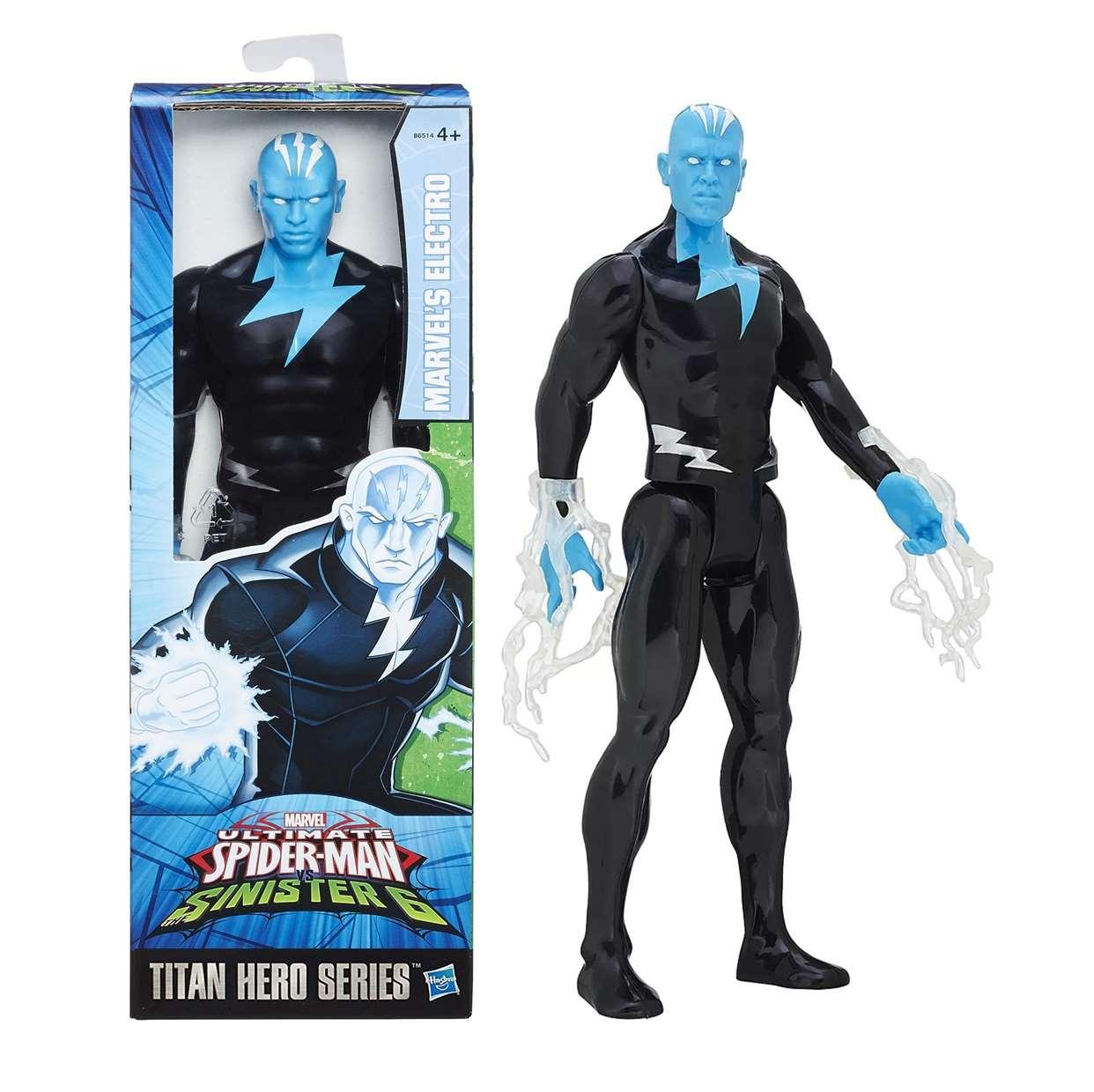Electro Figura Marvel Ultimate Spider Man Sinister 12 PuLG