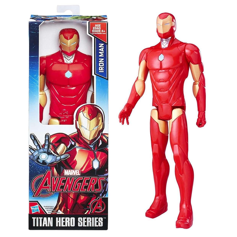 Iron Man Figura Marvel Avengers Titan Hero Series 12 Pulgadas