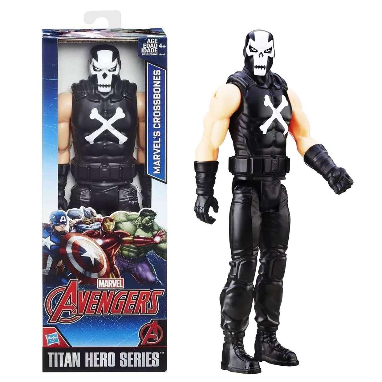 Crossbones Figura Marvel The Avengers Titan Hero Series
