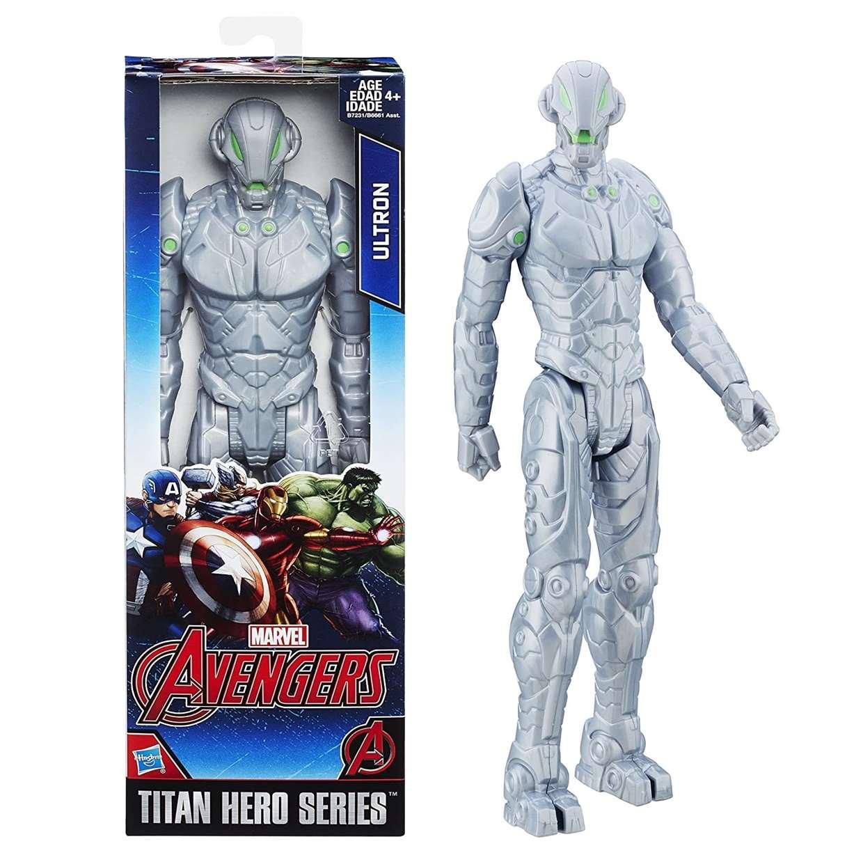 Ultron Ojo Verde Figura Marvel The Avengers Titan Hero