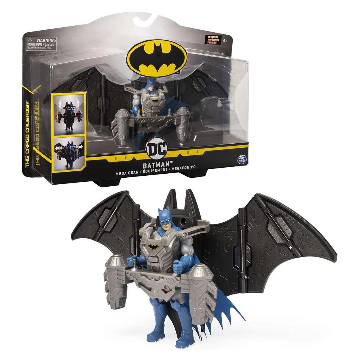 Batman Mega Gear Figura The Caped Crusader Spin Master
