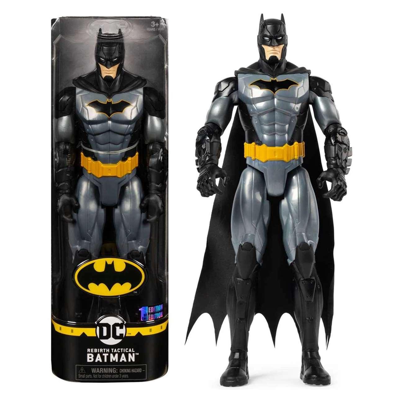 Batman Rebirth Tactical Figura The Caped Crusader Spin Master