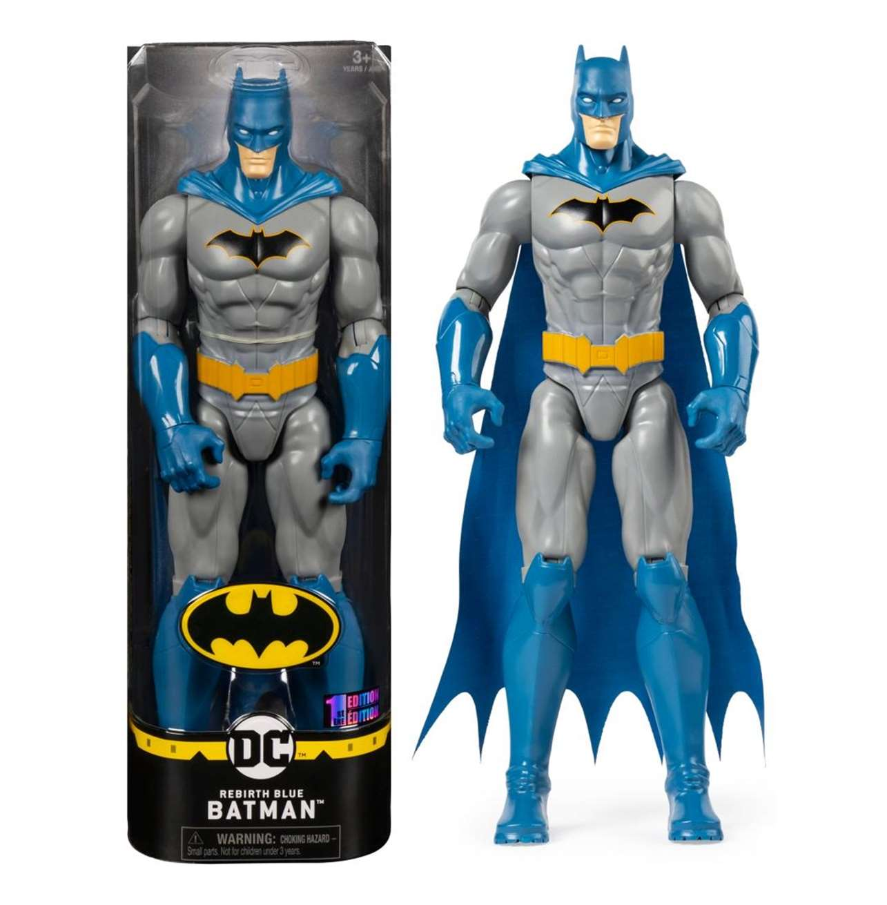 Batman Rebirth Blue Figura The Caped Crusader Spin Master