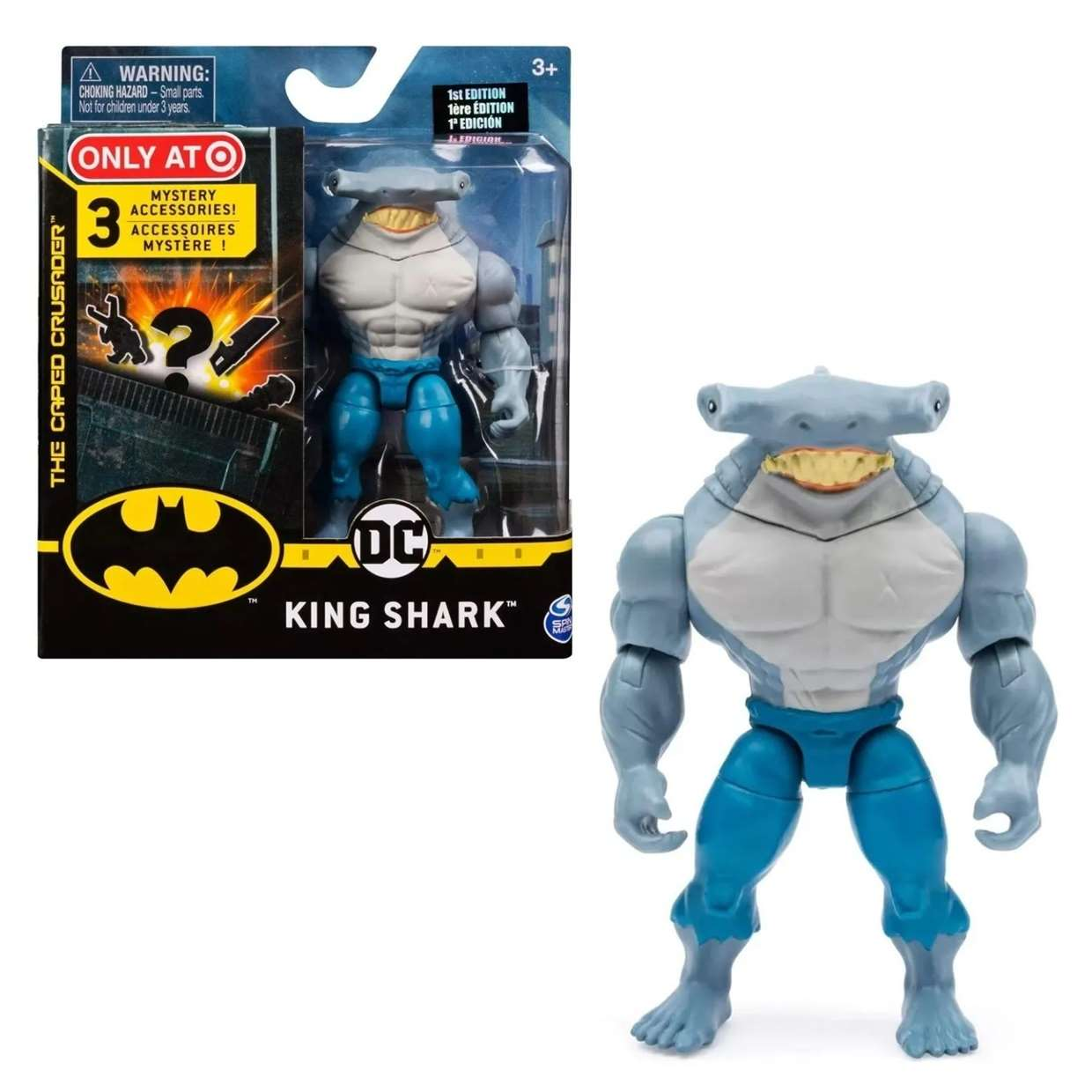 King Shark The Caped Crusader Exclusivo Only Target 3 PuLG
