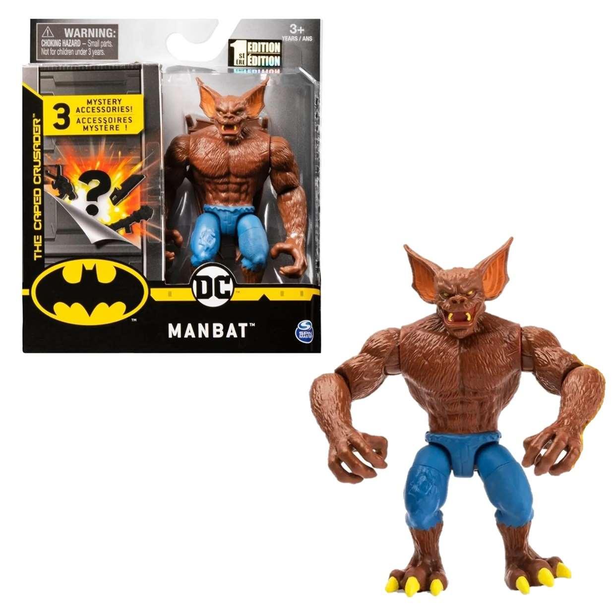 Man Bat 1st Edition Figura The Caped Crusader Spin Master
