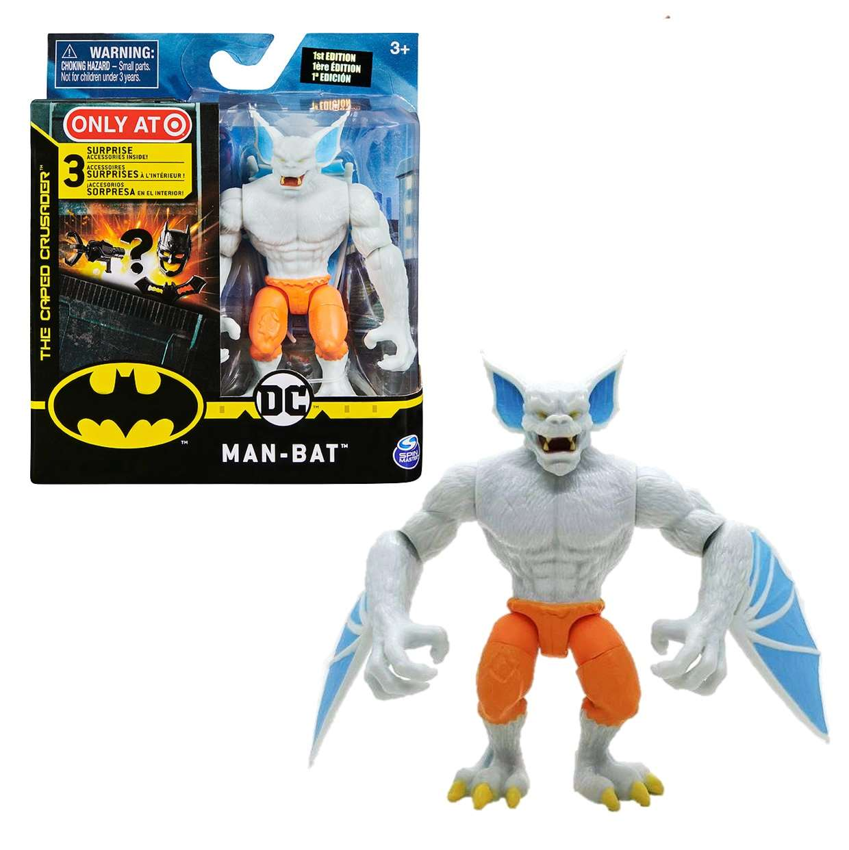 Man Bat Figura The Caped Crusader Exclusivo Only Target