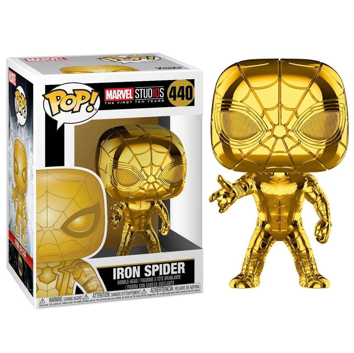 Iron Spider #440 Figura Marvel Studios 10th Funko Pop!
