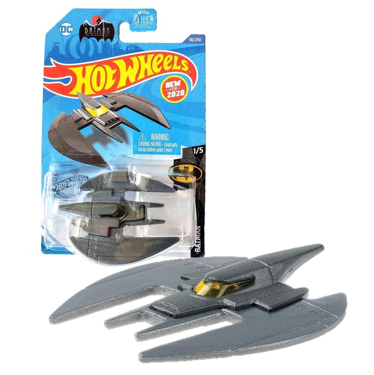 Batplane Batman The Animated Series 1/5 Hot Wheels New 2020