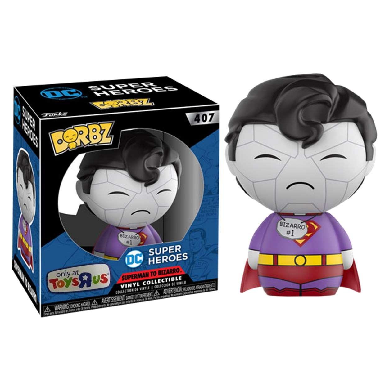 Superman Bizarro #407 Exclusivo Toysrus Funko Dorbz