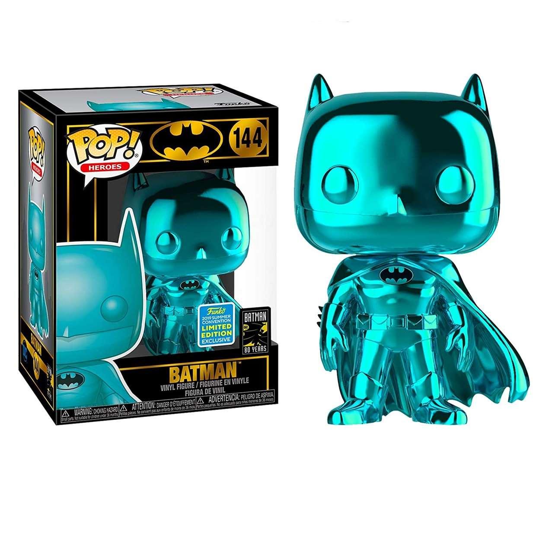 Batman #144 Funko Pop! Chrome Edición Limitada 80th Years