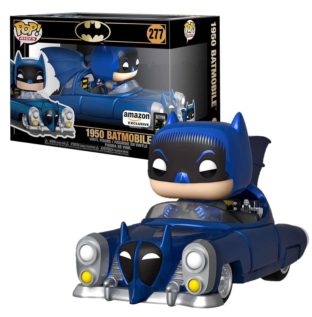 Batman #277 1950 Batmobile Funko Pop! Ride Exclusivo Amazon