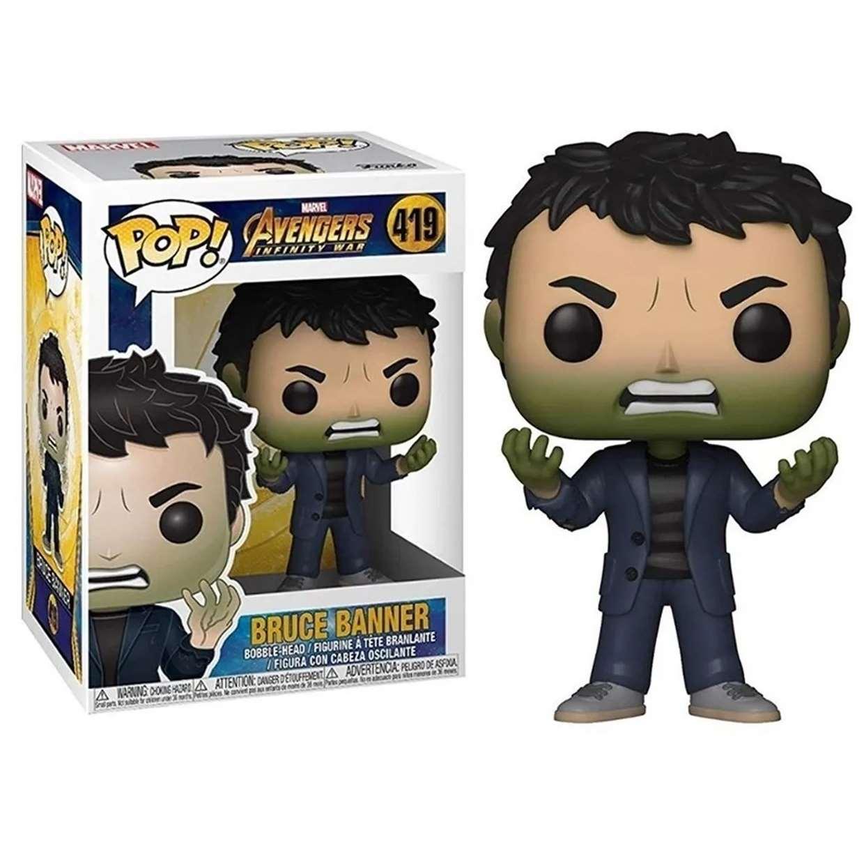 Bruce Banner #419 Figura Avengers Infinity War Funko Pop!