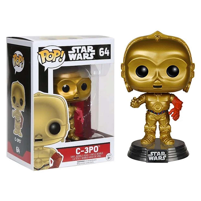 C-3po #64 Figura Star Wars Funko Pop!